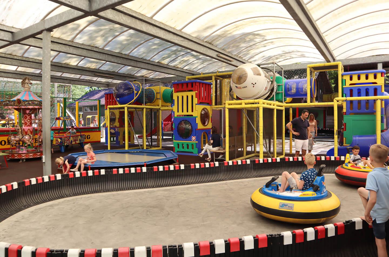Overkapping Speelpark Hoge Boekel