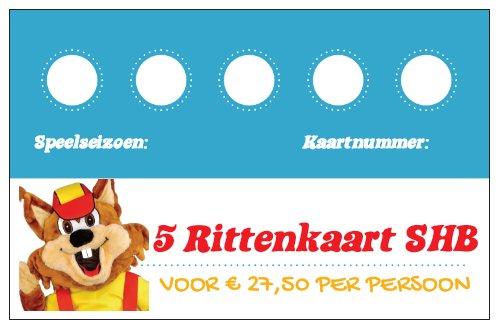 Rittenkaart Speelpark Hoge Boekel